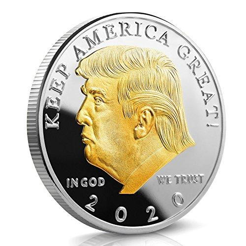 Presidential Coin Donald Trump Silver and Gold