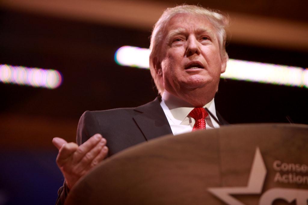Donald Trump Podium